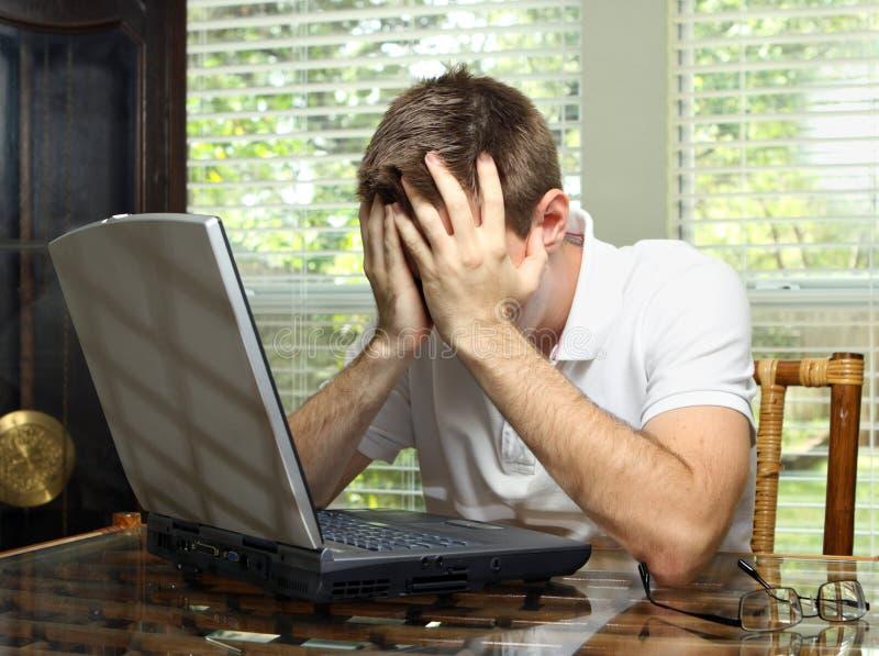 Betonte Arbeitskraft Lizenzfreies Stockfoto