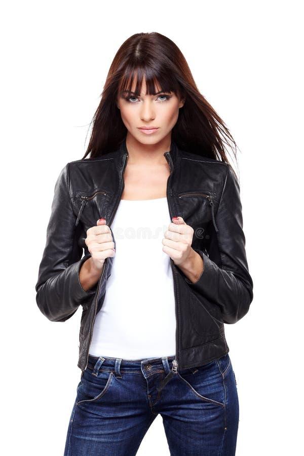 Betoverende jonge vrouw royalty-vrije stock foto