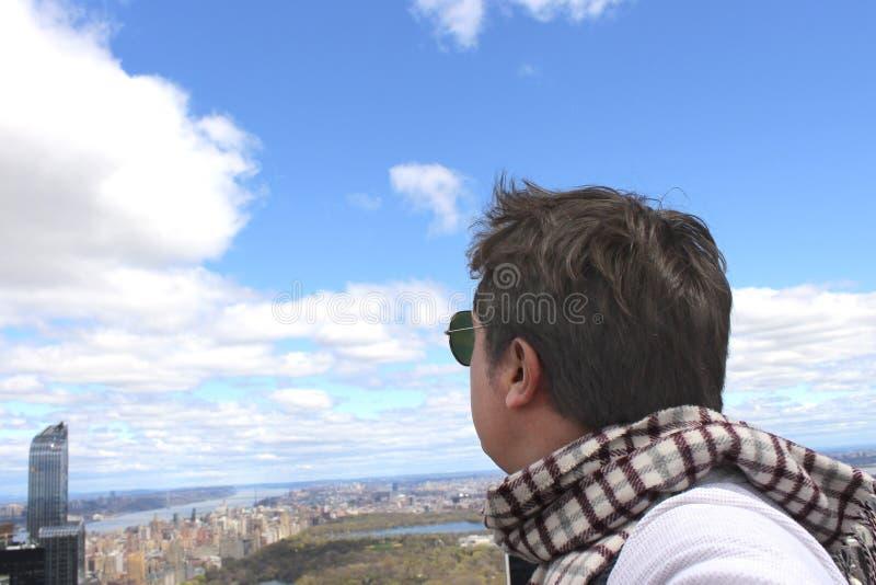 Betrachten des Central Park lizenzfreies stockbild