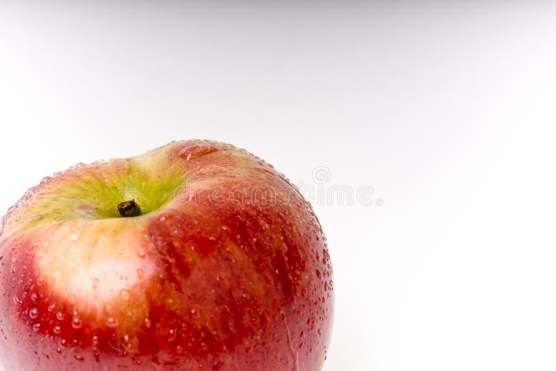 Betrachten Sie den Apfel lizenzfreies stockfoto