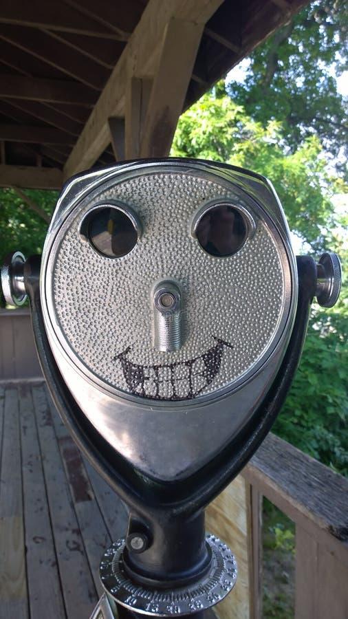 Betrachten Sie durch das Lächeln Letchworth-Nationalpark lizenzfreie stockbilder