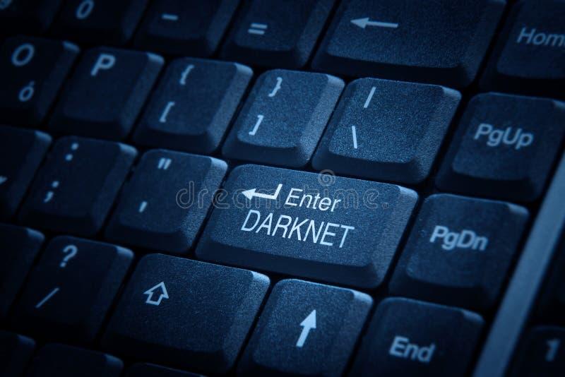 Betreten Sie Darknet stockbilder