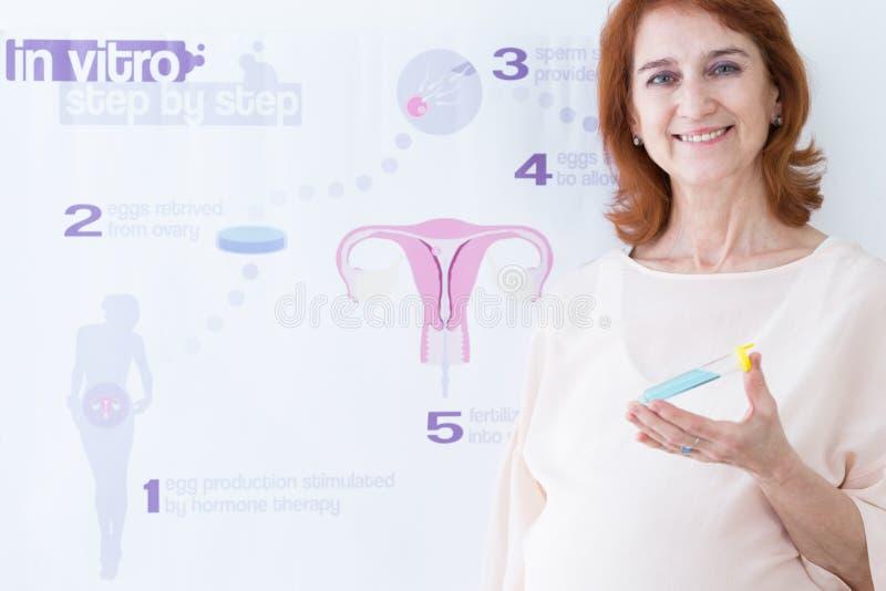 Betrieb der modernen prenatalen Klinik lizenzfreies stockbild
