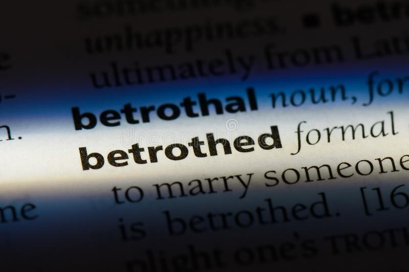 betrothed stock fotografie