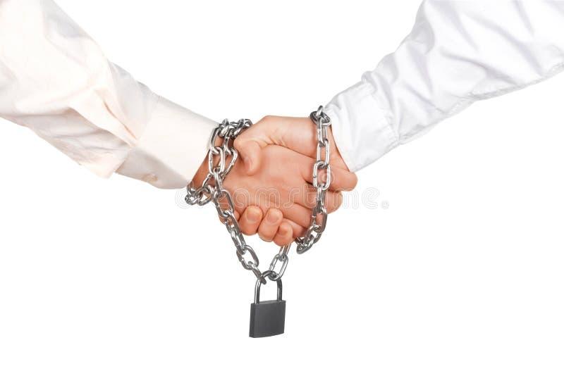Betrouwbare overeenkomst royalty-vrije stock fotografie