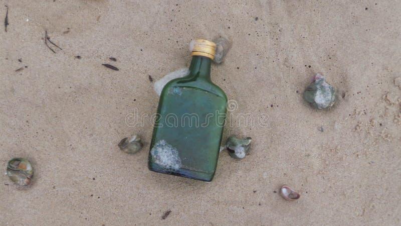 Betrunkener Strand lizenzfreie stockbilder
