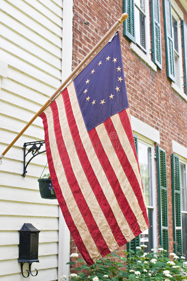 Download Betsy Ross Flag, Antique stock image. Image of freedom - 5537731