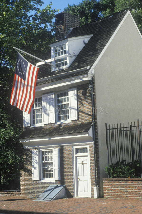 Betsy Ross House stock foto