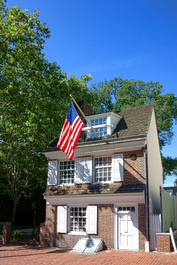 Download Betsy Ross House In Old Philadelphia Pennsylvania Stock Image - Image: 33237759