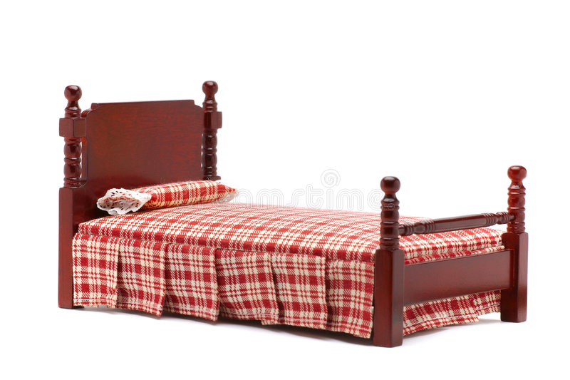 Bett lizenzfreie stockbilder