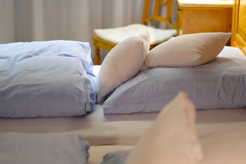 Bett stockfotografie