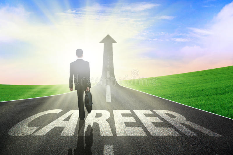 Download Better Career stock image. Image of cloud, improvement - 24925915
