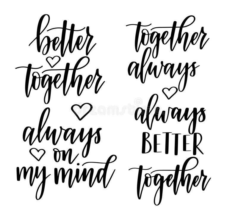 3D Printed T-Shirts We are Better Together Valentines Day with Calligraphy Design Elements Short Sleeve Tops Tees