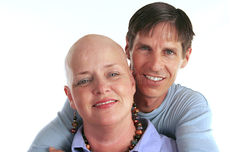 For Better Or Worse. A loving, devoted couple. The wife is undergoing cancer treatment