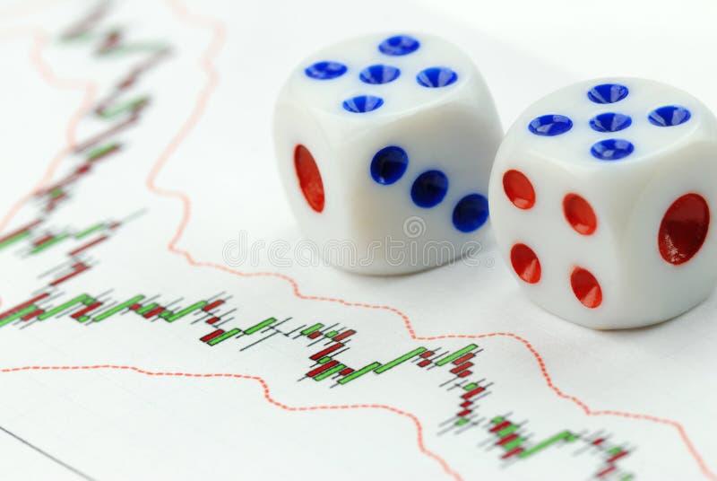 Betting on market royalty free stock image
