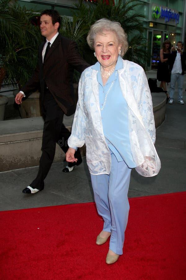 Betty White stock afbeeldingen