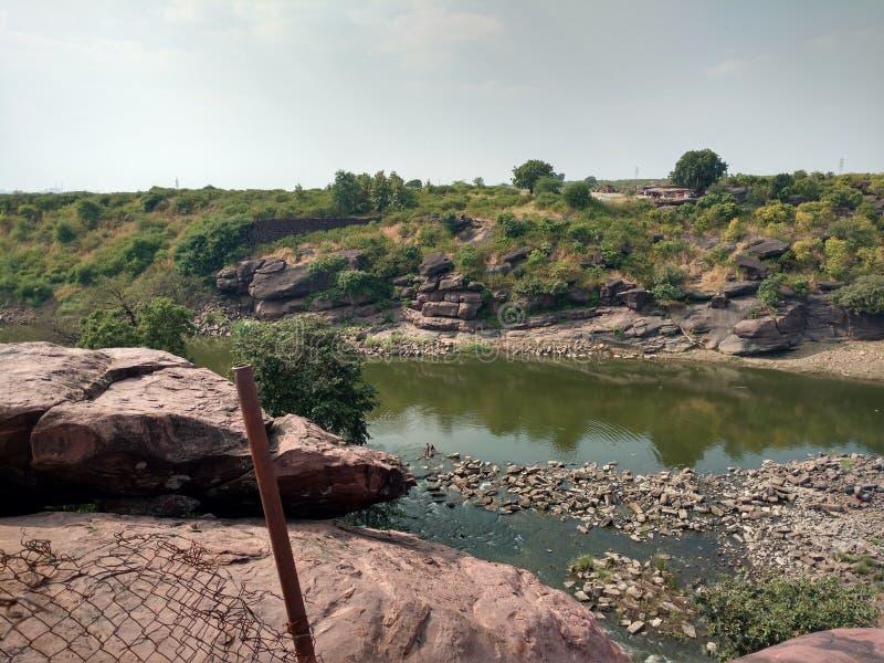 Betwa河 库存照片