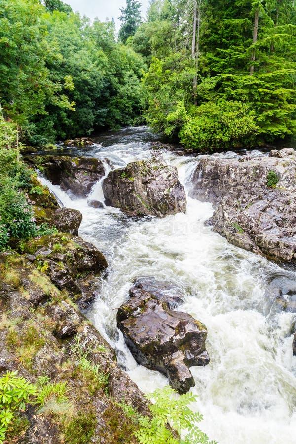 Betws-y-Coed в национальном парке Snowdonia в Уэльсе, Великобритании стоковые фото
