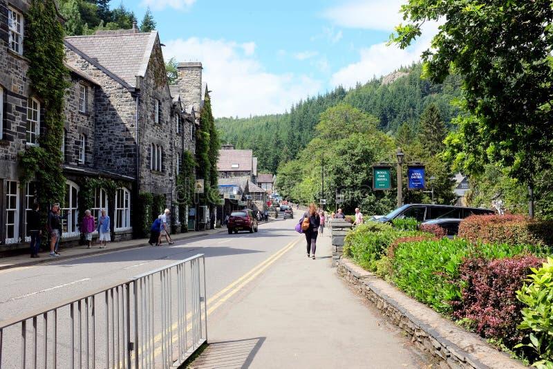 Betws-y-samundervisnings- Wales arkivbilder