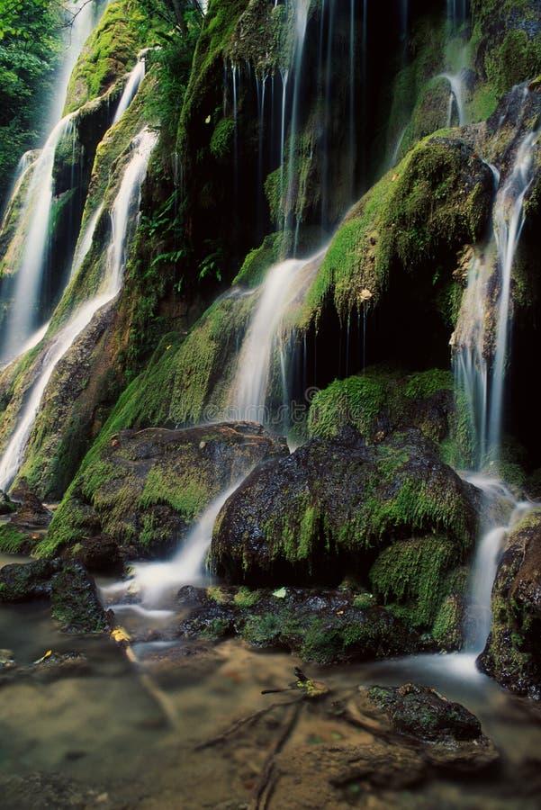 Beu Wasserfälle, Rumänien lizenzfreies stockfoto