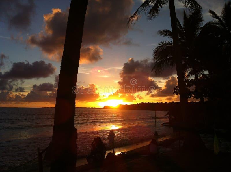 Beuatiful-Sonnenaufgang stockfotos