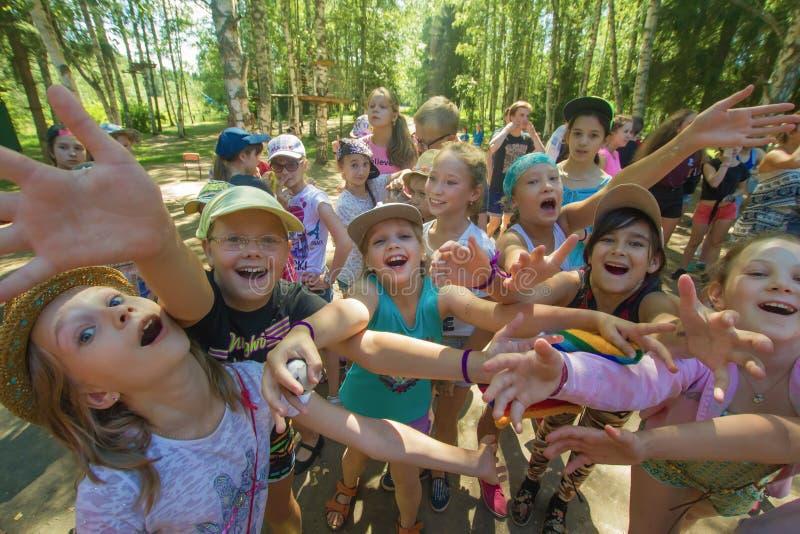 Beundra barnhandtaghänder royaltyfri fotografi
