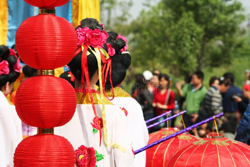 Beundra blomman av kejsaren royaltyfria bilder