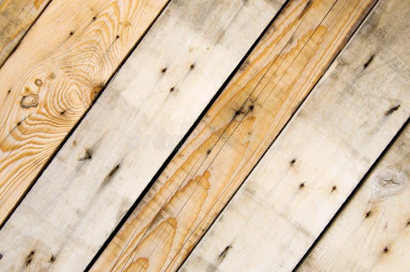 Beunruhigte alte hölzerne Planke steigt Hintergrund ein lizenzfreie stockfotos