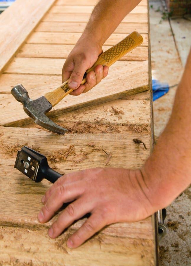 Beunruhigtes Holz stockbilder