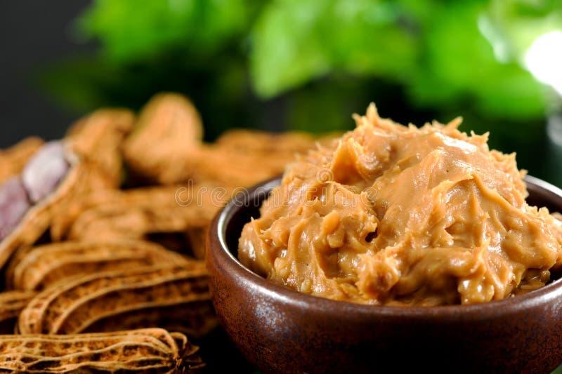 Beurre d'arachide image libre de droits