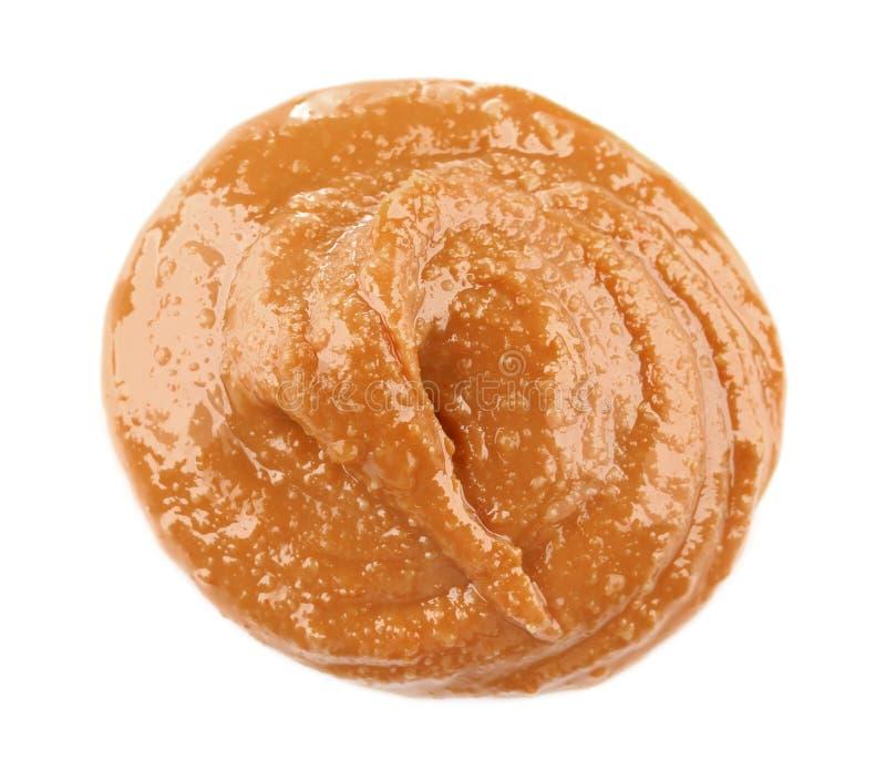 Beurre d'arachide crémeux photo libre de droits