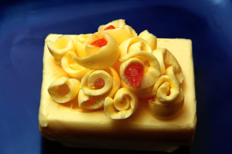 Beurre et caviar photos stock