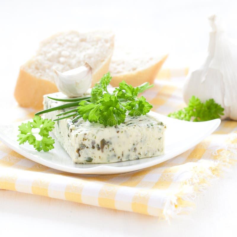 Beurre persillé photos stock