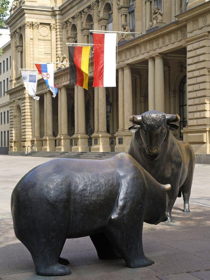 Beurs in Frankfurt-am-Main royalty-vrije stock afbeelding