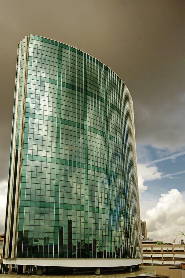 Beurs-mondo Centro-Rotterdam commerciale fotografia stock
