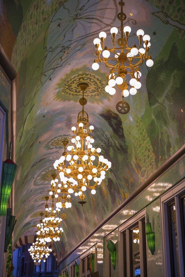 Beurs Passageway em Amesterdã imagens de stock royalty free