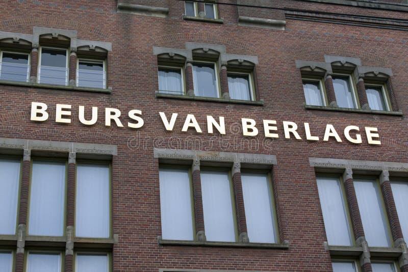 Beurs Van Berlage royalty-vrije stock foto