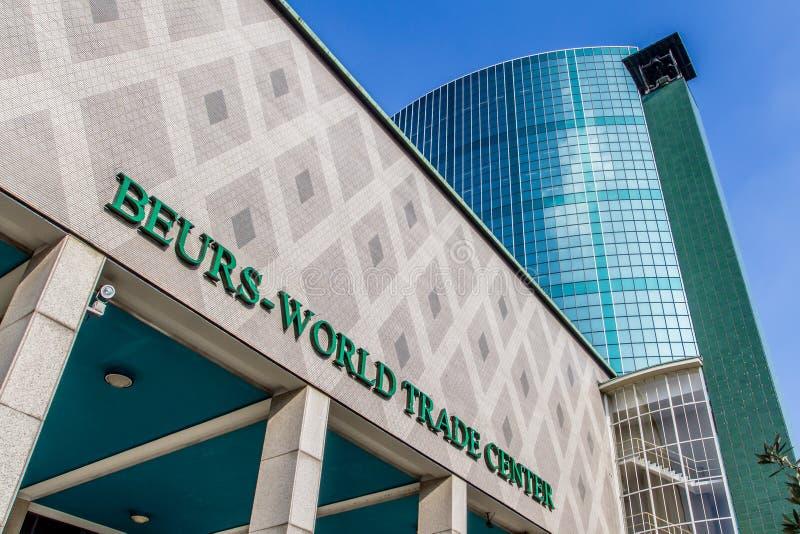 Beursworld trade center Rotterdam royalty-vrije stock afbeelding