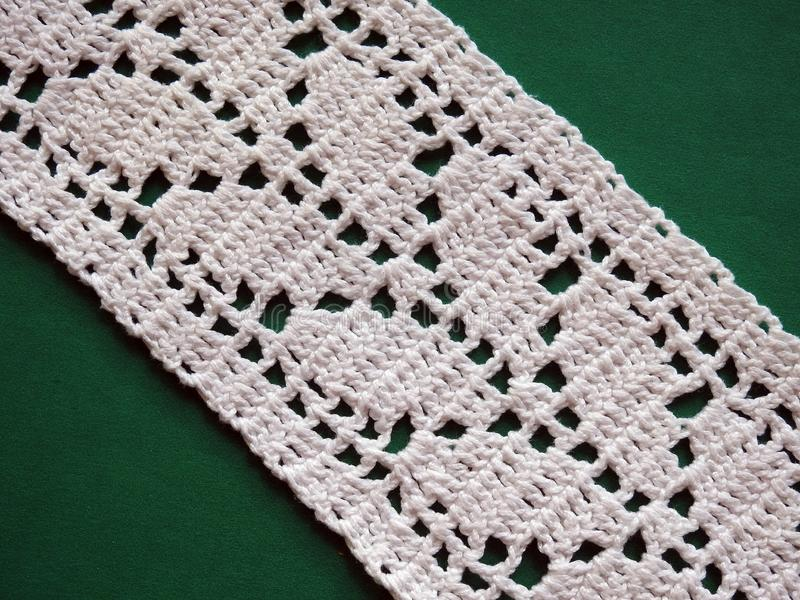 Beuteful crochet surface with ornaments, Lithuania stock images