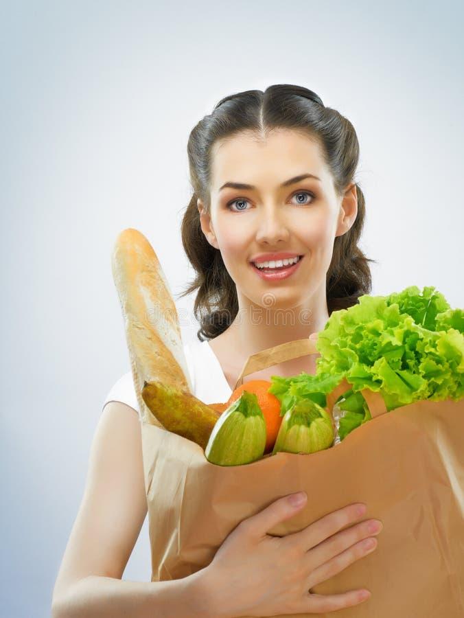 Beutel der Nahrung lizenzfreie stockfotografie