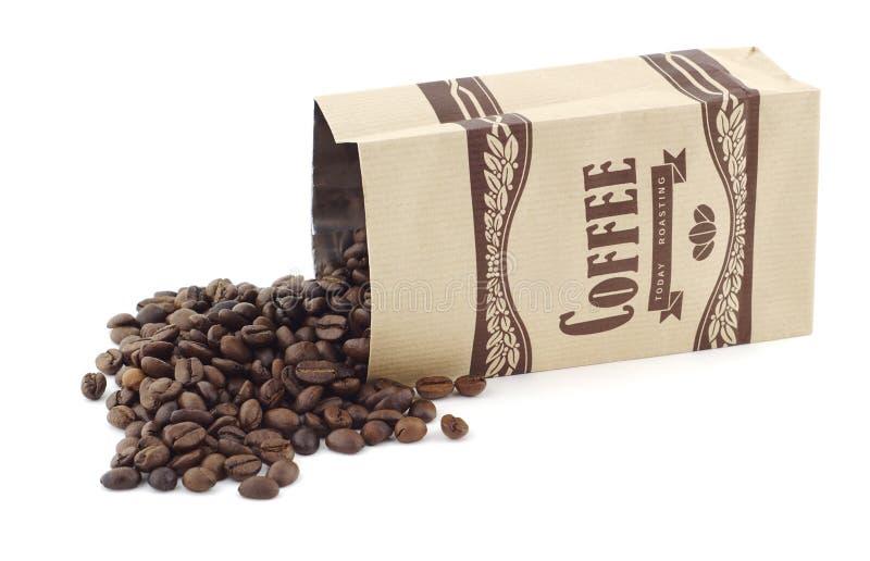 Beutel des Kaffees lizenzfreie stockfotos
