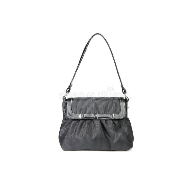 beutel Frauentasche auf einem Hintergrund lizenzfreies stockfoto