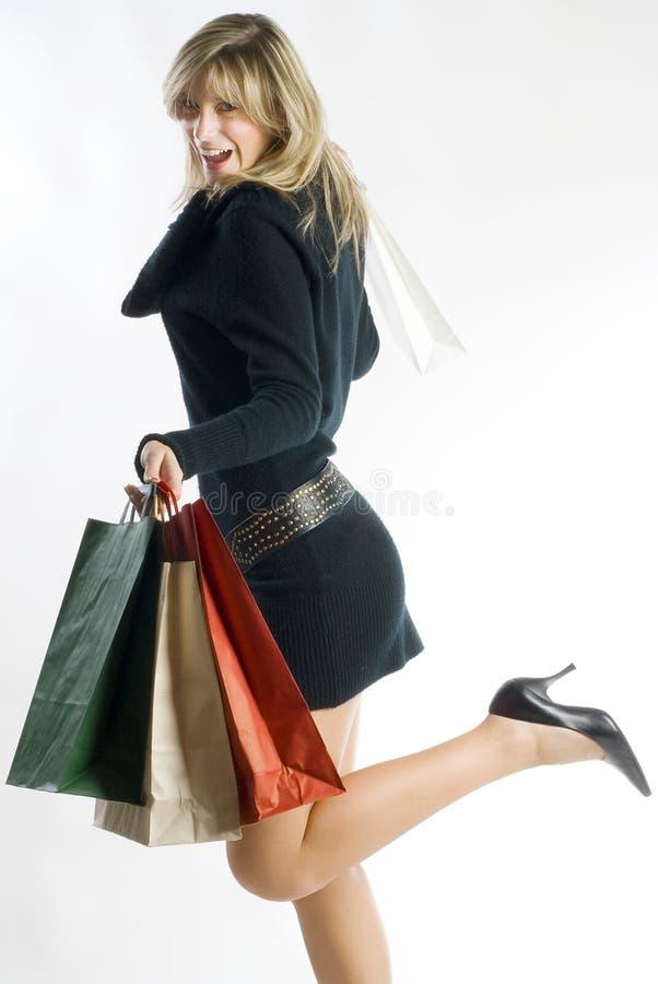 Beutel und Einkaufen stockfotografie