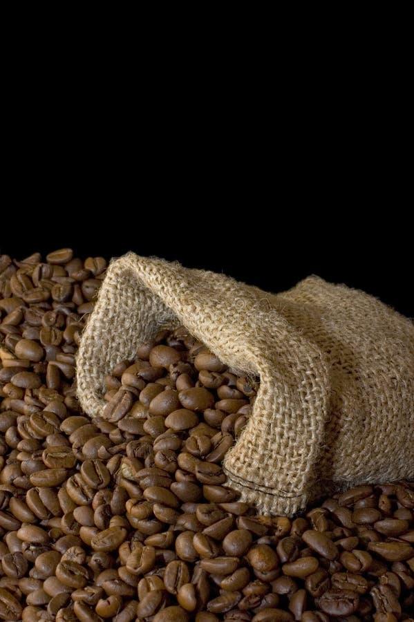 Download Beutel vom Kaffee stockbild. Bild von schwarzes, bild - 12200905