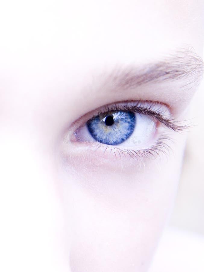 Beutiful eye stock photos