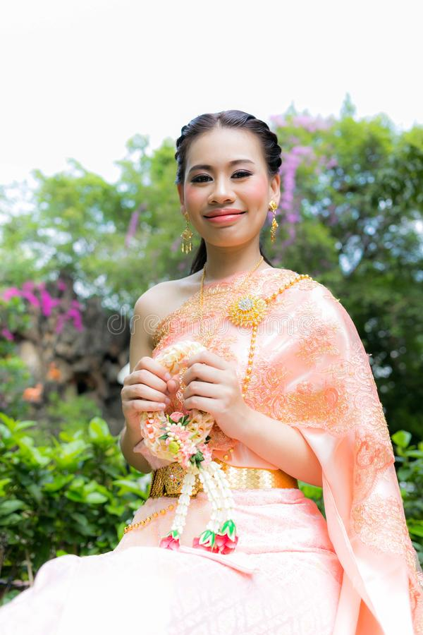 Beutiful Traditional Thai clothing stock image