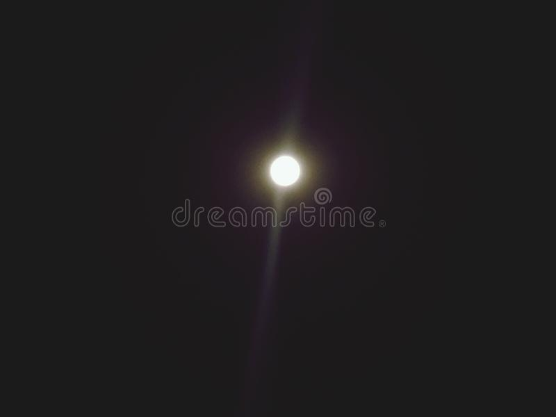 Beuty of moon stock photos