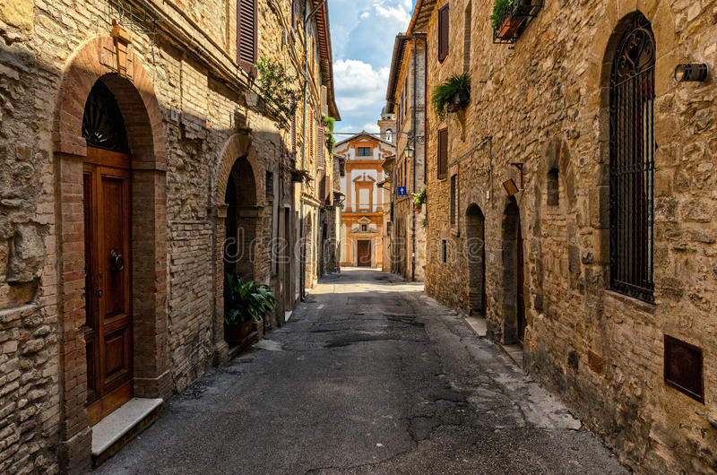 Bevagna et x28 ; Umbria& x29 ; Di Santa Margherita de Chiesa image libre de droits