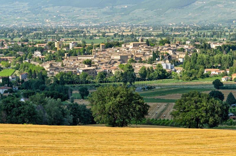 Bevagna et x28 ; Umbria& x29 ; image libre de droits