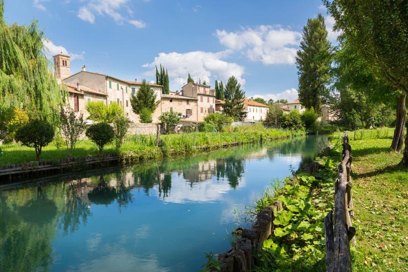 Bevagna, Umbría en Italia foto de archivo libre de regalías